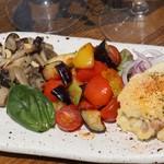 【おすすめ】彩り野菜の前菜3種