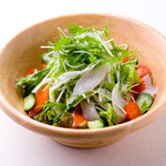 上六産直市場 - 海鮮サラダ