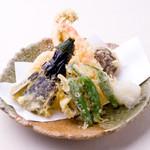 上六産直市場 - 天ぷら