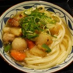 丸亀製麺 - ごろごろ野菜の揚げだしうどん。