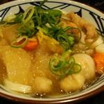 丸亀製麺 - 大盛り。