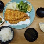漣 - 大海老フライ定食2980円