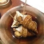 桃酔 - 北海道つぶ貝煮