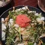 桃酔 - 大根と明太子のサラダ