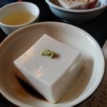 76175823 - 胡麻豆腐 ワサビ醤油
