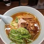 熊王ラーメン - 料理写真:醤油