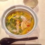 海援丸 - 松茸の茶碗蒸し蟹あん仕立て