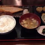 和可奈 - さば塩定食+しゅうまい2個(1100円)