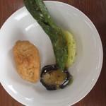 キッチンガーデン ふるかわ - 野菜のソテーとお稲荷さん