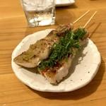 炭火串焼かなめ - *豚バラ 梅しそ(¥160) *豚バラ ゆずこしょう(¥160)