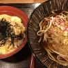 嵯峨谷 - 料理写真:親子丼 そばセット。富士そばと比べてはいけない