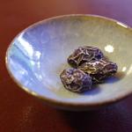 茶寮 宝泉 - しぼり豆