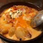 ココチ - 厚切りベーコンとポテトのエッグフラメンカ