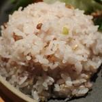マザームーンカフェ - 雑穀米