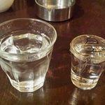 カフェ アンジェリーナ - 水と芋焼酎
