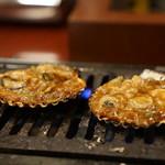 満潮 - 牡蠣味噌焼き