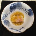 日本料理 銀座 一 - 金目鯛の黄花餡