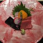 日本料理 銀座 一 - お造り