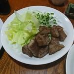 酒菜屋たぬき - 和牛サイコロステーキ