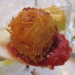 アマルフィイ - 前菜の 帆立コロッケ