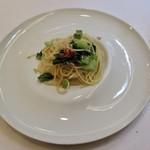 アマルフィイ - しらすと 小松菜のスパゲッティーニ