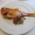 アマルフィイ - 1本魚のオーブン焼き