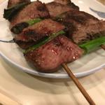 和風もつ料理 あらた - ハート串、タン串