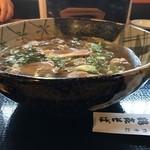 本家 鶴喜そば - 料理写真:鴨なんばんそば 大盛 1660円