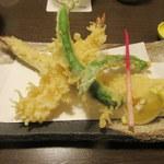 有喜屋 - 天ぷら3種