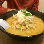 ちゃんぽん 玉ねぎ - 野菜ちゃんぽん(600円)