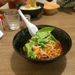 ちゃんぽん 玉ねぎ - 汁なし担々麺(800円)