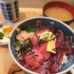 割烹 和知 - 鉄火丼ランチ1100円税込