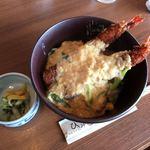 京丹後地産食堂 味工房 海鮮ひさみ - エビフライ丼