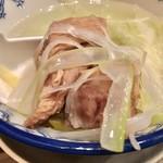 牛たん炭焼 利久 - テールスープ