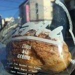 パティスリーブルボン - 料理写真:クッキーシュークリーム(¥150)