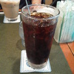 珈琲苑 - アイスコーヒーは味わい深いが酸味はほとんどない