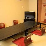 古楽 - 内観写真:特別室Ⅱ6~10名様(8畳和室+洋間6畳)※5400円コース以上でご予約承ります。