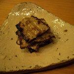 762979 - 秋刀魚(腹須)炙り。