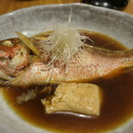お肉にするか お魚にするか かのう - 小鯛の煮付け
