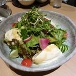 たなごころ - 自家製京豆腐の10品目サラダ
