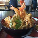 天一坊 - 料理写真:海老天丼