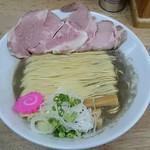 まつや - 煮干しらーめん750円 並