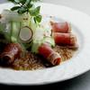NOBU TOKYO - 料理写真:マグロのタタキのサシミサラダ マツヒサドレッシング