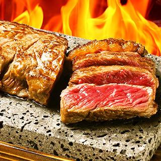 看板メニュー「目黒deステーキ」