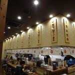 平八郎 - 開店したばかりで店内ピカピカ、厨房のスタッフさんが多いように思いますが開店した所なのでしょうか?