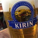 第一亭 - 生ビール