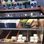 築地本願寺カフェ Tsumugi - 堂島小豆ロールや抹茶ロールはテイクアウトもできます