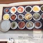 築地本願寺カフェ Tsumugi - お粥はおかわり自由です