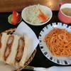 大増 - 料理写真:桃色ランチ