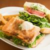 Tokyo Kenkyo - 料理写真:2種ハムと新鮮野菜のサンドイッチ